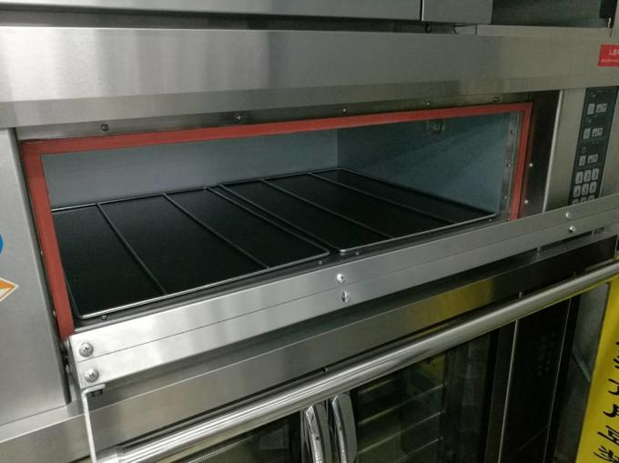 2 Trays Per Chamber / Electric Baking Ovens with Micro - computer Intelligent Control Smart Preset