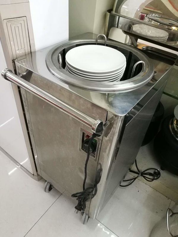 1 Holder Electric Plate Warmer Cart Capacity 50 Dishes