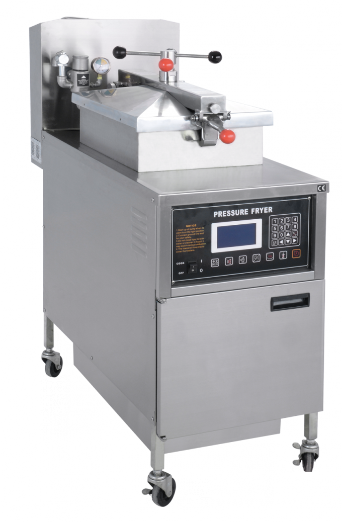 Commercial Electric Pressure Fryer For Fried Chicken With Stainless Steel Body