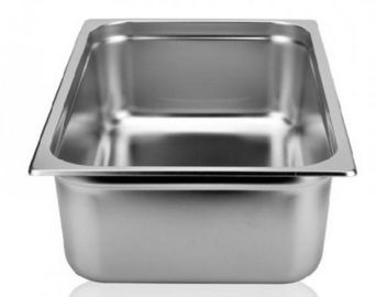 China Stainless Steel Cookwares For Kitchen Full Size GN Food Pan 530×327×100×0.7mm supplier