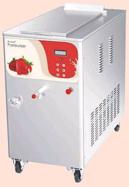 China Milk Ice Cream Mix Pasteurizer Commercial Refrigerator Freezer 730x1225x1087mm 6KW supplier