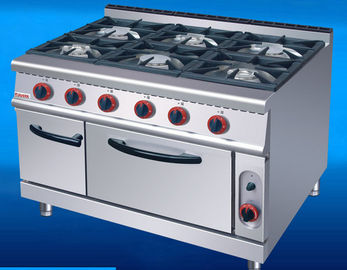 China US-RQ-6 Commercial Kitchen Equipments Gas Range 6 Burner Gas Oven supplier