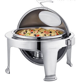 China Round Stainless Steel Chafing Dish supplier