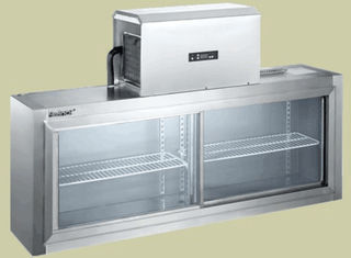 China +6℃ To +2℃ Commercial Fridge Freezer Industrial Refrigerator Freezer 1500*450*600/300 supplier