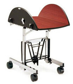 China Commercial Room Service Equipments Trolley With Folded Wood Board supplier