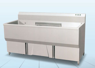 China WJB-180 Single Cylinder Food Washing Machine / Commercial Kitchen Equipment supplier
