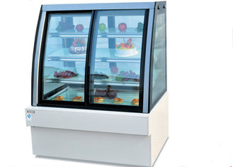 China Luxury Front & Back - door Display Showcase / Commercial Fridge Freezer supplier