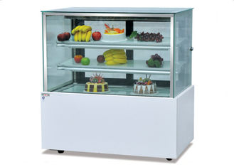 China Japonic Right Angle Cake Display Cooler / Commercial Refrigerator Freezer supplier
