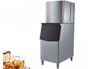China Daily Production 150kg Split Type Ice Cube Machine Air Cooling 1.6m Height supplier