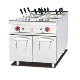 China Gas Pasta Cooker With Cabinet Western Noodle Fast Cooking Kitchen Equipment supplier