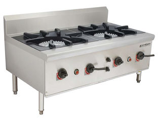 China Gas Stock Pot Range Chinese Style Soup Cooking Stove 1100 x 650 x (500+150) mm supplier