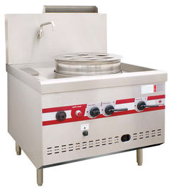China Gas Steaming Stove Commercial Single Dim Sum Steamer 950 x 1050 x (810+450)mm supplier