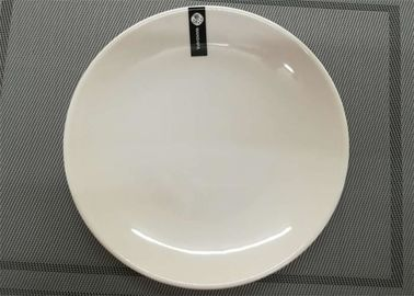 China Unbaked Porcelain Dinnerware Sets UNK Plate Diameter 23cm Weight 250g White Color supplier