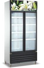 China Commercial Refrigerator Freezer LC-1000M2F , Vertical Showcase With Glass Door supplier