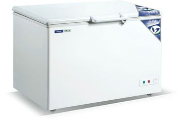 China Commercial Horizonal Top Open Chest Freezer 520L For Kitchen With Foam Layer supplier