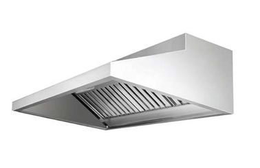 China EH-115 Silver Commercial Stainless Steel Exhaust Hood With Filter For Kitchen supplier