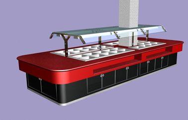 Stainless Steel 380v Commercial Buffet Equipment 400l