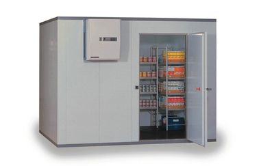 China Insulated Kitchen Commercial Refrigerator Freezer , Walk-In Cold Storage Room supplier