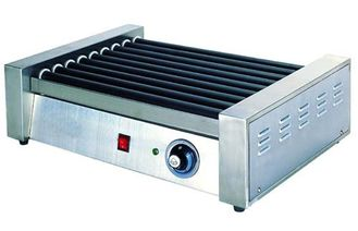 China Hotel Stainless Steel Commercial Hot-Dog Grill Machine 9-Roller For Fast Food supplier