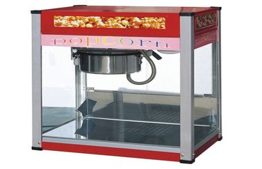 China Hotel Painting Snack Bar Equipment / Commercial Countertop Popcorn Machine supplier