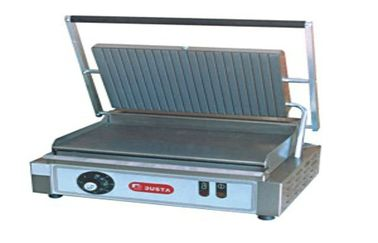 China Stainless Steel Panini Grill Machine 7-roller For Restaurant , 450x370x220mm supplier