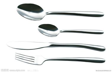 China Silver Polish Stainless Steel Cookwares Cutlery For Commercial Kitchen Soup supplier