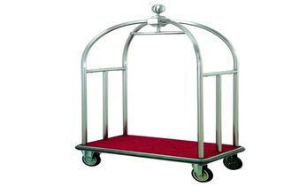 China Hotel Luxury Luggage Trolley supplier