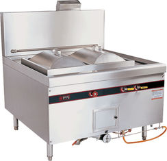 China Commercial Natural Gas Rice Roll Steamer / Cooking Steamer 96kw For Restaurant supplier