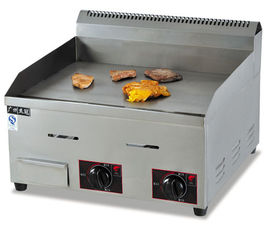 China Commercial Electric Griddle / Countertop Gas Griddle 36.7KW , Stainless Steel supplier