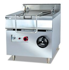 China Restaurant Kitchen Equipment ZH-RS 80L Electric Tilting Pan Sauce Cooking Stove supplier