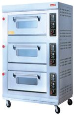 China Energy-Saving Electric Baking Ovens With 3 Layer 9 Trays For Catering Industry supplier