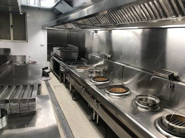 2500 X 1200 X 580mm Stainless Steel Catering Equipment