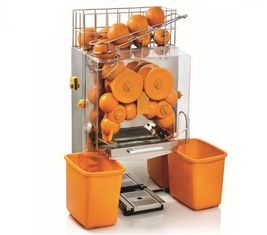 China Automatic Orange Juicer 20 Orange/min Transparent Front Cover Orange Processing Equipments supplier