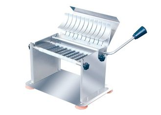 Stainless Steel Food Processing Equipments Manual Sausage Slicer Hot Dog Sausage Cutter 8mm Slice Thickness