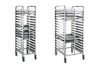 China 16/32 Tray Full-Size Bun / Sheet Pan Rack Assembled or Welding Type Stainless Steel Catering Equipment supplier