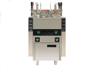 China 12KW Commercial Kitchen Equipments , Auto Lift Up 6 Baskets Pasta Cooker supplier