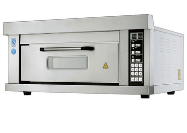 China 2 Trays Per Chamber / Electric Baking Ovens with Micro - computer Intelligent Control Smart Preset supplier