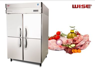 China European Standard Commercial Refrigerator Freezer Built In Fan Cooling System supplier
