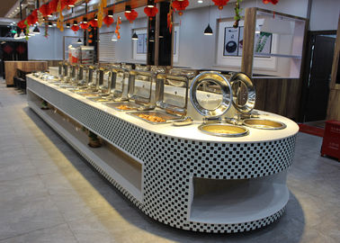 China Restaurant Equipment Buffet Stations Fit Chafing Dish Hot Display Buffet supplier