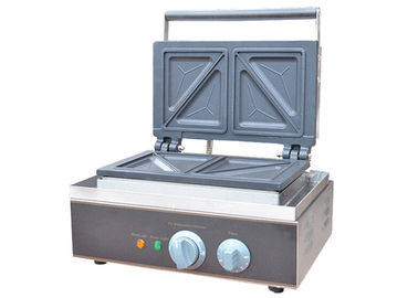 China Commercial Sandwich Waffle Maker / Sandwich Press Machine 220V 1550W supplier