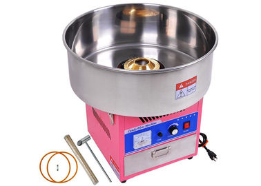 China Stainless Steel Snack Bar Equipment / Electric Cotton Candy Floss Machine supplier