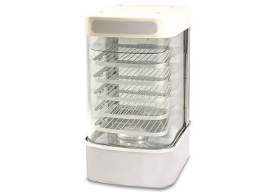 China Electric Bread Display Steamer / Food Warmer Display With Automatic Temperature Control Countertop 5 Layers supplier