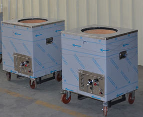 China Portable Stainless Steel Catering Equipment Square Natural Gas or LPG Tandoor Oven supplier