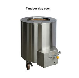 China Natural gas or LPG Stainless Steel Round Tandoor Oven 565 * 810mmH supplier