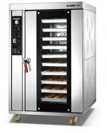 China 18kw Electric Baking Ovens Double Control Systems / Hot Air Convection Oven supplier