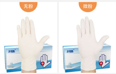 China Medical Gloves Disposable Medical Rubber Household Powder Emulsion Wear-resistant Special for Doctors supplier