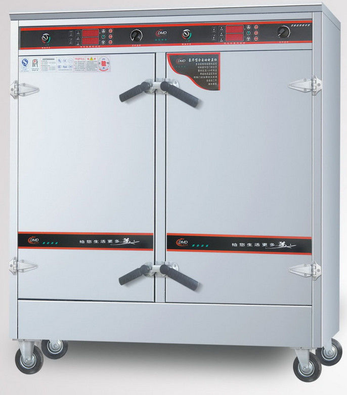 Silver Hotel Restaurant Big Canteen Commercial Kitchen Steamers 36KW ...