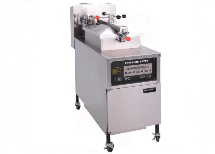 PFG-600 Vertical Gas Pressure Fryer / Fried Chicken Machine ...