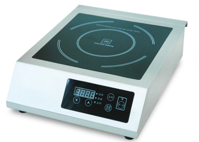 340*455*120mm Countertop Induction Cooker / Commercial Kitchen Equipment
