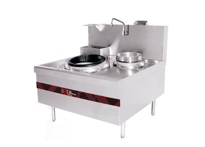 Single Burner Chinese Cooking Stove Gas Range Type with Stainless Steel Material